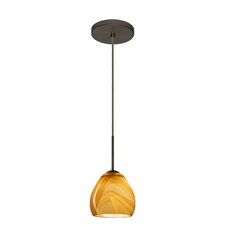 Bolla 1-Light Mini Pendant