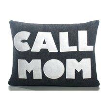 Good Advice Call Mom Throw Pillow