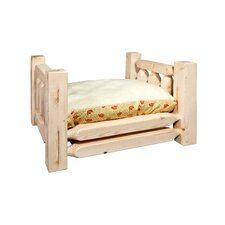Homestead Rustic Pet Bed with Mattress