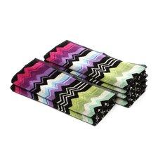 Giacomo Hand Towel 6 Piece Towel Set (Set of 6)