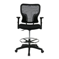 Space Mid-Back Mesh Drafting Chair