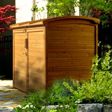5.17 ft. W x 2.83 ft. D Wood Horizontal Garbage Shed