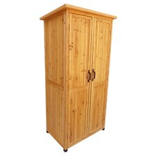 3 ft. W x 2 ft. D Wood Vertical Tool Shed