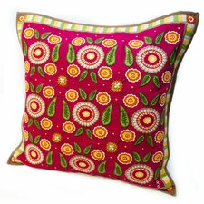 Susan Sargent Calico Accent Cotton Throw Pillow