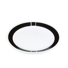 """Livingware 10.25"""" Urban Dinner Plate (Set of 6)"""