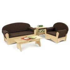 Komfy 4 Piece Sofa Set