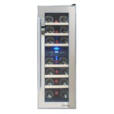 21 Bottle Dual Zone Freestanding Wine Cooler
