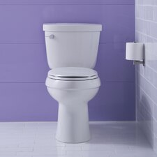 Cimarron Comfort Height Two-PieceToilet with Aquapiston Flush Technology and Left-Hand Trip Lever