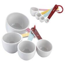 8 Piece Measuring Cup & Spoon Set