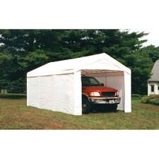 Super Max 10 Ft. W x 20 Ft. D Vehicle Port