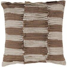 Rustic Ruffle Cotton Throw Pillow