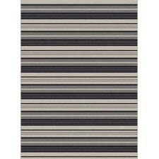 Piazza Black Outdoor Area Rug