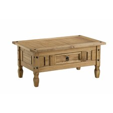 Traditional Corona Coffee Table with Storage