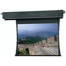 Tensioned Executive Electrol Grey 54'' H x 96'' W Motorized Electric Projection Screen
