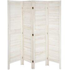 """67"""" x 66"""" Venetian Modern 4 Panel Room Divider"""