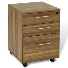 Pro X 3 Drawer Mobile File Cabinet