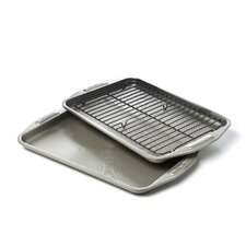 3 Piece 25th Anniversary Rectangle Bakeware Set