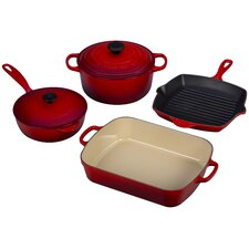Cast Iron Signature 6 Piece Cookware Set