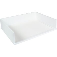 Midnight Stacking Letter Tray