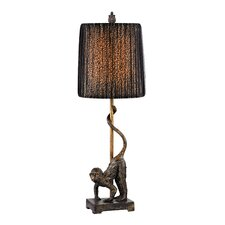 "Monkey Accent 26"" Table Lamp"