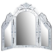 Arched Dressing Table Mirror