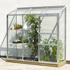 Ida Wall Garden 1.3m W x 0.7m D Mini Greenhouse