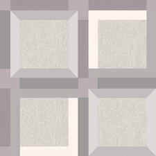 3D Squares 10m L x 53cm W Geometric Roll Wallpaper
