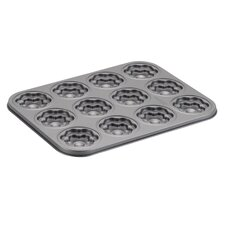 Non-Stick 37.8 cm Groovy Girl and Flower Carbon Steel Cookie Pan