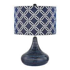 "Textured 20.5"" Table Lamp"