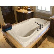 "Designer Jennifer 72"" x 48"" Whirlpool Bathtub"