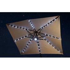 10' Square Illuminated Umbrella