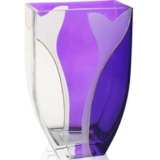 Hand Painted Glass Paix Series Vase