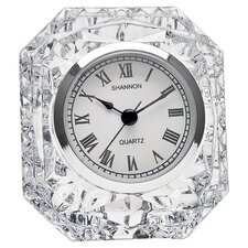 Dublin Crystal Table Clock I