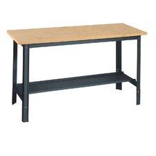 Economy Adjustable Height Wood Top Workbench