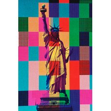 'Digital Liberty' Graphic Art on Canvas