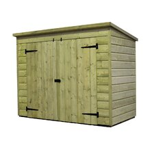 6 x 4 Wooden Bike Shed