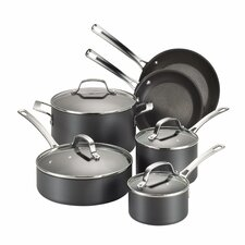 Genesis 10 Piece Hard Anodized Cookware Set