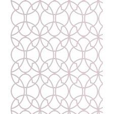 "Solace 33' x 20"" Geometric Wallpaper Roll"