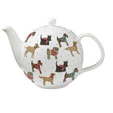 Hound Dog Bone China Teapot