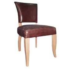 Blyth Genuine Leather Upholstered Dining Chair