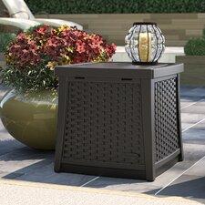 Cube 13 Gallon Resin Deck Box