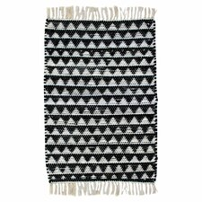 Dakota Black & White Area Rug