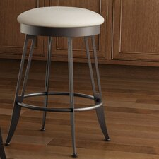 "Library Luxe Style 26"" Swivel Bar Stool"