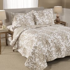 Bedford Cotton Coverlet Set by Laura Ashley Home