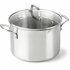 Classic Stainless Steel Stock Pot