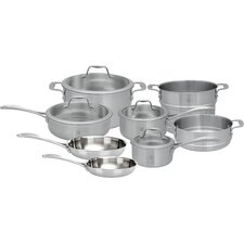 Spirit 3-Ply 12 Piece Stainless Steel Cookware Set