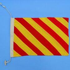 Letter Y Cloth Nautical Alphabet Flag Wall Décor