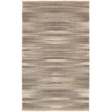 Natural Fiber Gray Area Rug