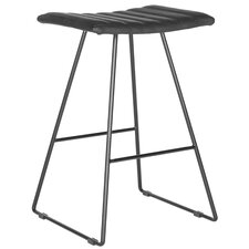 "Akito 26"" Bar Stool (Set of 2)"