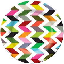 """Ziggy 11"""" Melamine Dinner Plate (Set of 4)"""